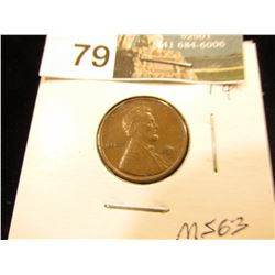 1911 P Lincoln Cent MS-63