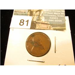 1912 D Lincoln Cent F-12