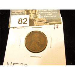 1912 D Lincoln Cent VF-20