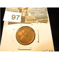 1921 S Lincoln Cent XF-40