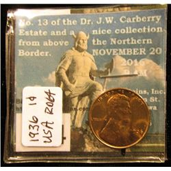 1936 Lincoln Cent RD-64