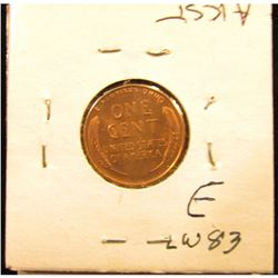 1939 S Lincoln Cent RD-65