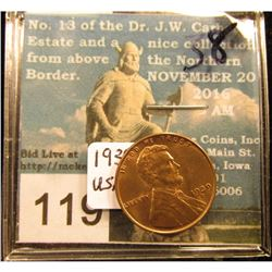 1939 D Lincoln Cent RD-65