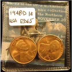 (4) 1948 D Lincoln Cent MS-65