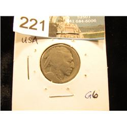 1914 S Buffalo Nickel   G-6
