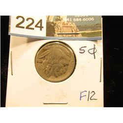 1914 P Buffalo Nickel F-12