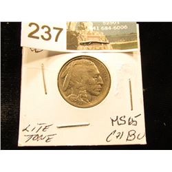 1915 D Buffalo Nickel MS-65