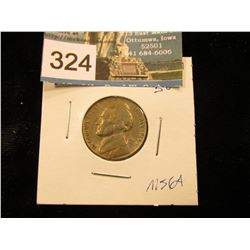1946 D Jefferson Nickel. MS-64