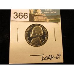 1976 S Jefferson Nickel. DCAM-69