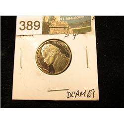 2002 S Jefferson Nickel. DCAM-69