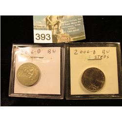 (2) 2006 D Jefferson Nickel. Return to Monticello FS-65