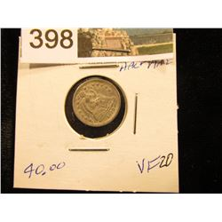 1856    Liberty Seated Half Dime Arrows at date removed    VF-20