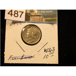 1941 P Mercury Dime MS-63