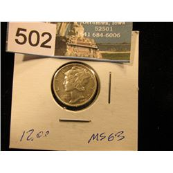 1943 S Mercury Dime MS-63