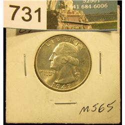 1947 P Washington Quarter MS-65