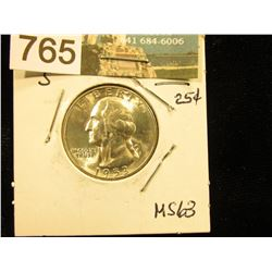 1953 S Washington Quarter MS-63