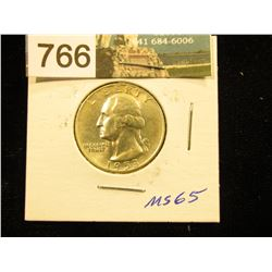 1953 D Washington Quarter MS-65