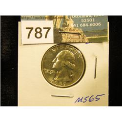 1957 D Washington Quarter MS-65