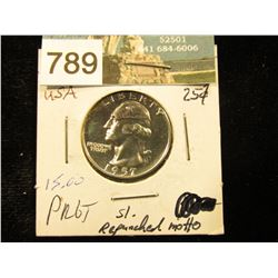 1957 P Washington Quarter PF-65