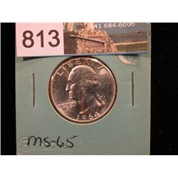 1964 P Washington Quarter MS-65