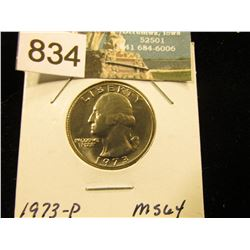 1973 P Washington Quarter MS-64