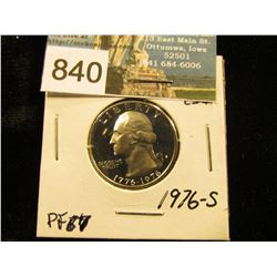 1976 S Washington Quarter PF-67