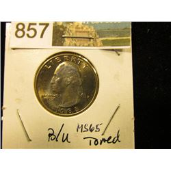 1988 P Washington Quarter MS-65
