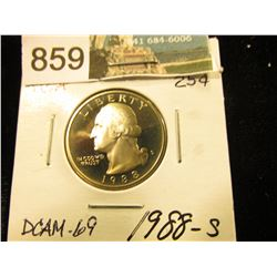 1988 S Washington Quarter DCAM-69