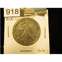 1916 P Walking Liberty Half-Dollar G-6