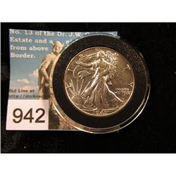 1941 P Walking Liberty Half-Dollar AU-50