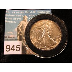 1941 D Walking Liberty Half-Dollar MS-62