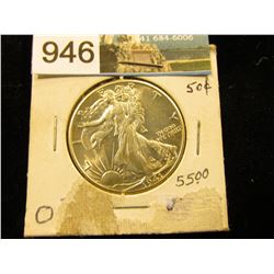 1941 P Walking Liberty Half-Dollar MS-63