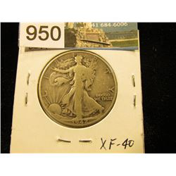 1942 P Walking Liberty Half-Dollar XF-40
