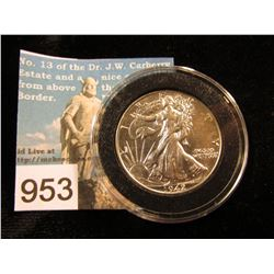 1942 P Walking Liberty Half-Dollar MS-63