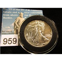 1943 P Walking Liberty Half-Dollar AU-50