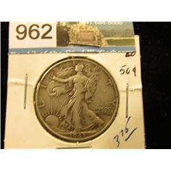 1943 P Walking Liberty Half-Dollar VF-20