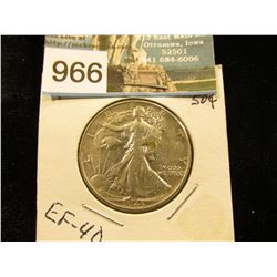 1943 P Walking Liberty Half-Dollar XF-40