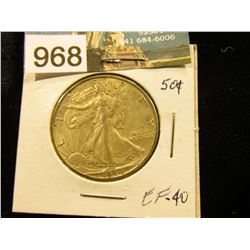 1944 D Walking Liberty Half-Dollar XF-40