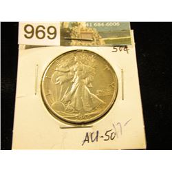 1944 S Walking Liberty Half-Dollar AU-50
