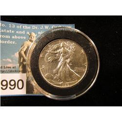 1936 P Walking Liberty Half-Dollars AU-50
