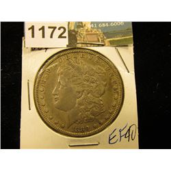 1889 O Morgan Silver Dollar XF-40