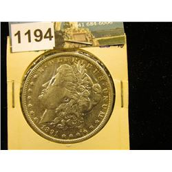 1891 P Morgan Silver Dollar XF-40