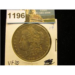 1892 O Morgan Silver Dollar VF-20