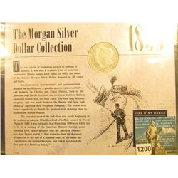 1893 P Morgan Silver Dollar  In Sleeve Morgan Dollar Collection     G-6