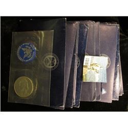 (13) 1971 S Silver clad In Blue Envelopes c/w Blue Chip - PCGS pricing    MS-65