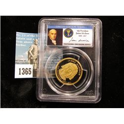 2007 S James Madison Presidential Dollar PCGS DCAM69