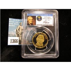 2007 S Thomas Jefferson Presidential Dollar PCGS DCAM69