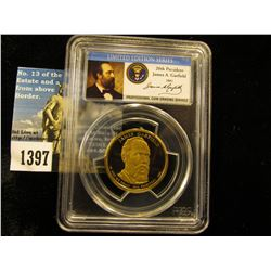 2011 S James Garfield Presidential Dollar PCGS PR69 DCAM