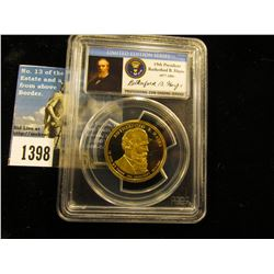 2011 S Rutherford B. Hayes Presidential Dollar PCGS PR69 DCAM