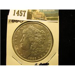 1885 P U.S. Morgan Silver Dollar, Brilliant Unc